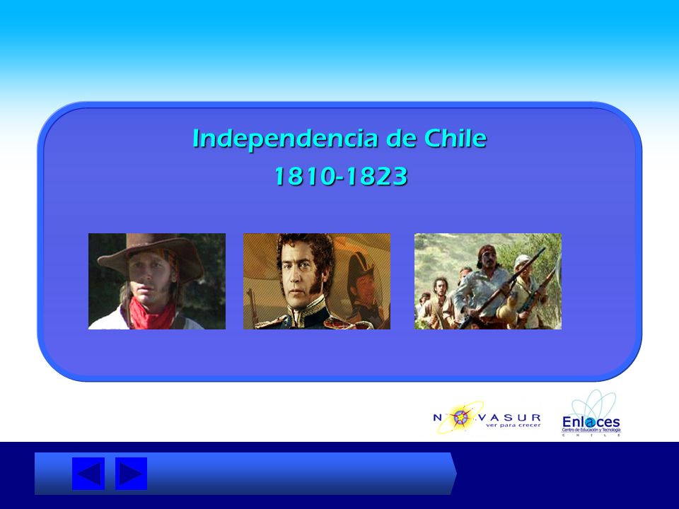 Independencia de Chile 1810-1823