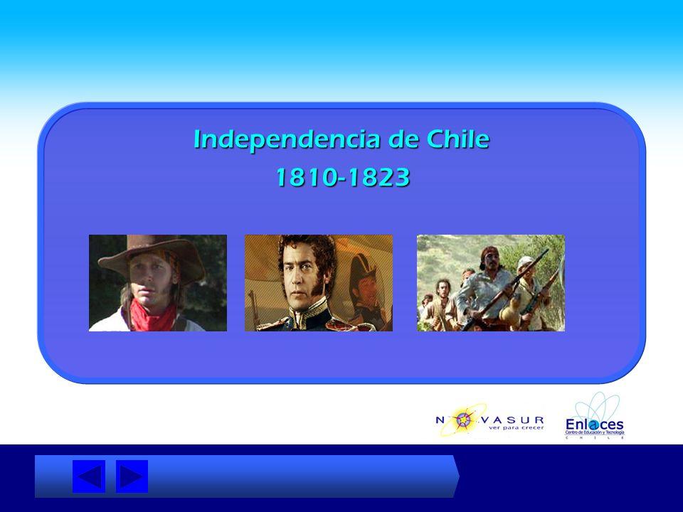 Índice de Contenidos La Creación de una Nación (para acceder a un tema pinche sobre la frase) Independencia de ChilePeríodo de Ensayos Constitucionale