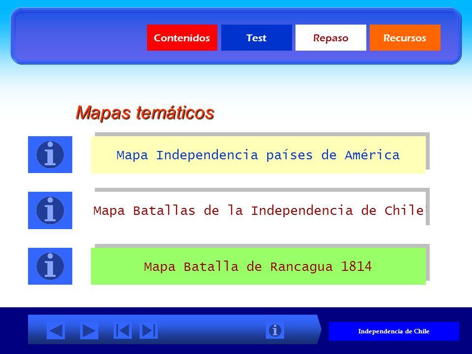 ContenidosTestRepasoRecursos Independencia de Chile Documentos Proclamación de la Independencia de Chile Acta del Cabildo de 1810