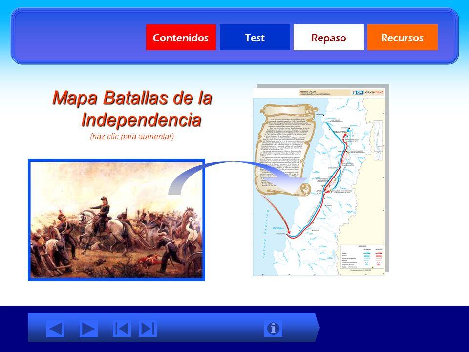 ContenidosTestRepasoRecursos LUEGO DEL APRESAMIENTO DE FERNANDO VII, EL CONSEJO DE REGENCIA ESPAÑOL QUISO GOBERNAR LOS PAISES AMERICANOS, PERO SEGÚN E