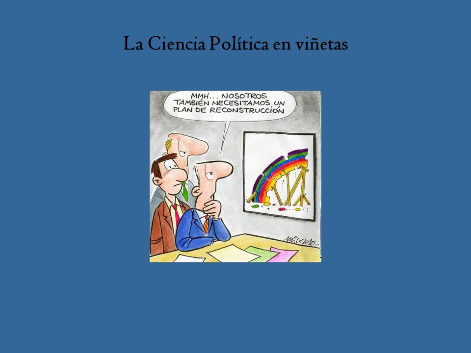 La Ciencia Política en viñetas