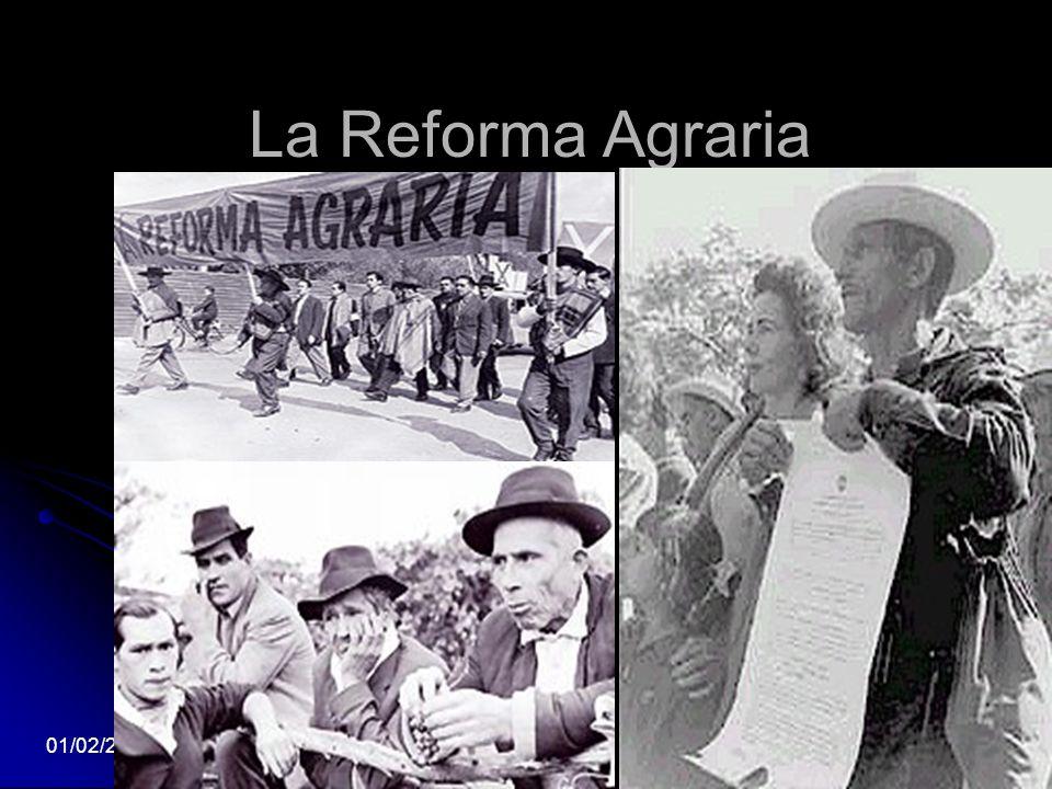 La Reforma Agraria 01/02/20145