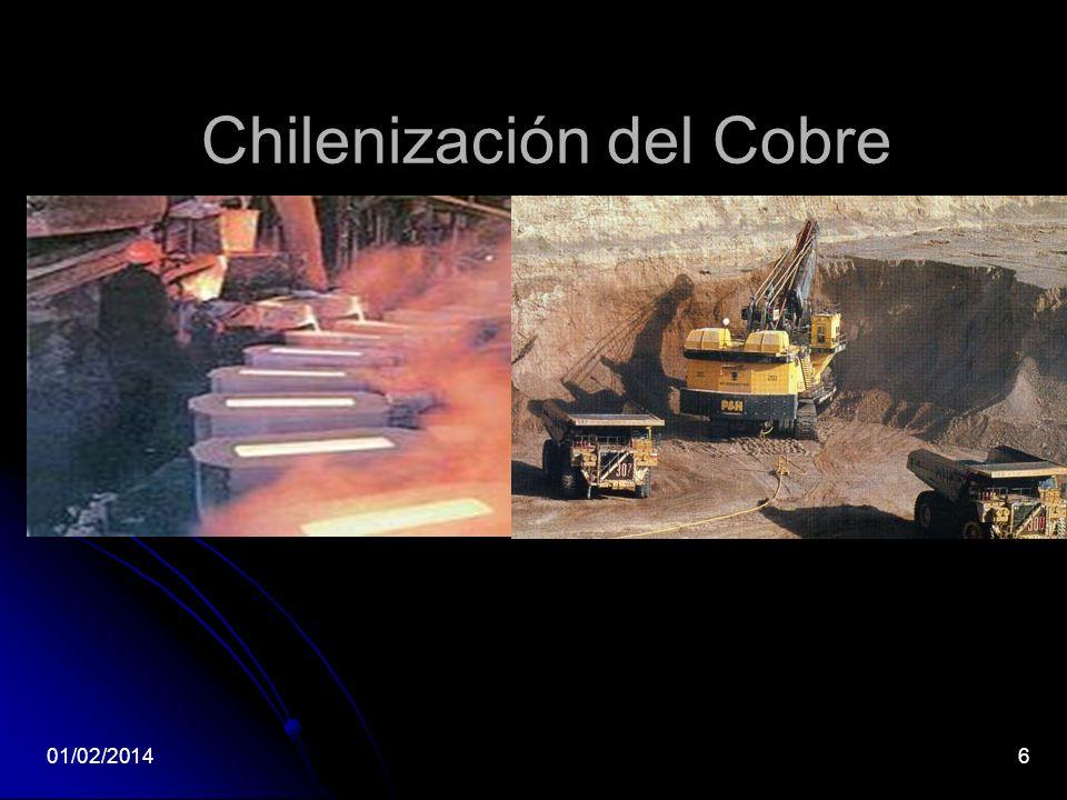Chilenización del Cobre 01/02/20146