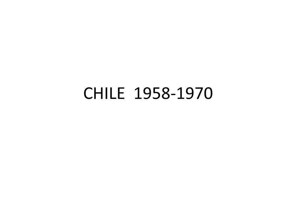 CHILE 1958-1970