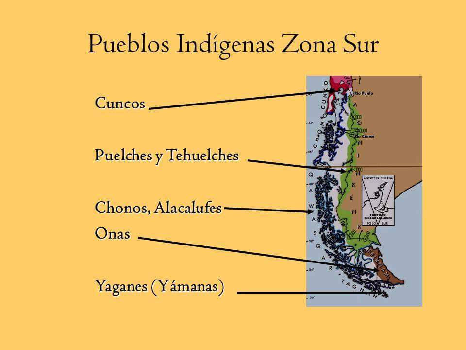 Mapuchue: Gente de la Tierra Pueblo sedentario ubicado entre el río choapa y el seno de Reloncaví Tradicionalmente se los divide en: a. Picunche: Gent