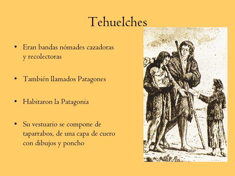 Pueblos Indígenas Zona Sur Cuncos Puelches y Tehuelches Chonos, Alacalufes Onas Yaganes (Yámanas)
