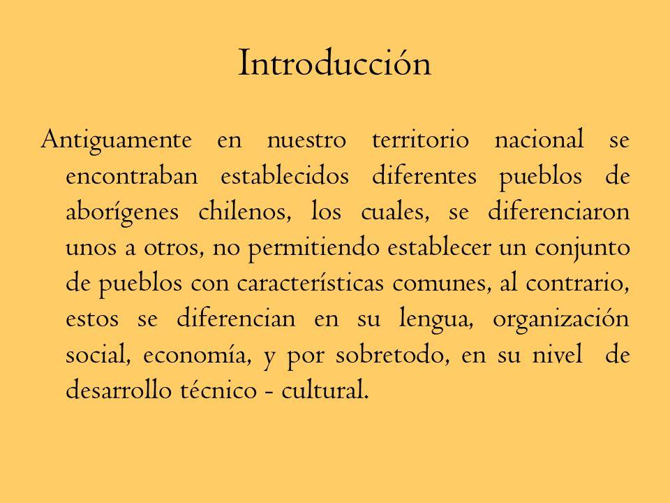 Pueblos Indígenas Chilenos Miércoles 4 de Junio Objetivo: Reconocer que antes de la llegada de los españoles, el territorio chileno fue habitado por d