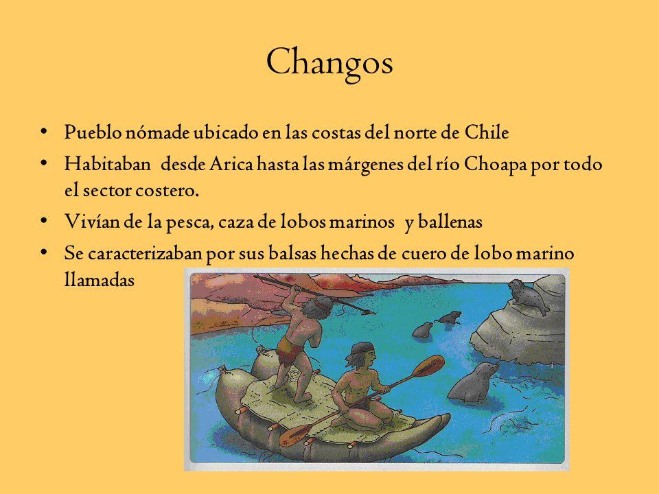 Ubicación de los Pueblos Norte Grande Aymara ChangosAtacameñosDiaguitas