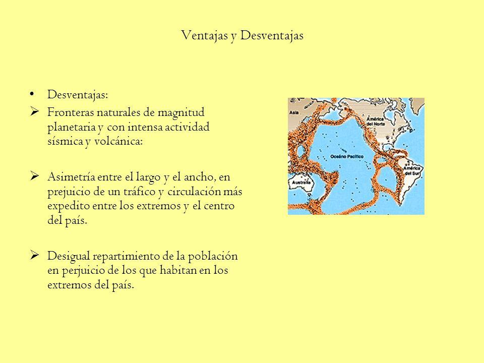 Territorio Marítimo y Aéreo Además de los territorios anteriormente señalados, Chile posee soberanía sobre una vasta zona marítima y otra aérea, cuyas