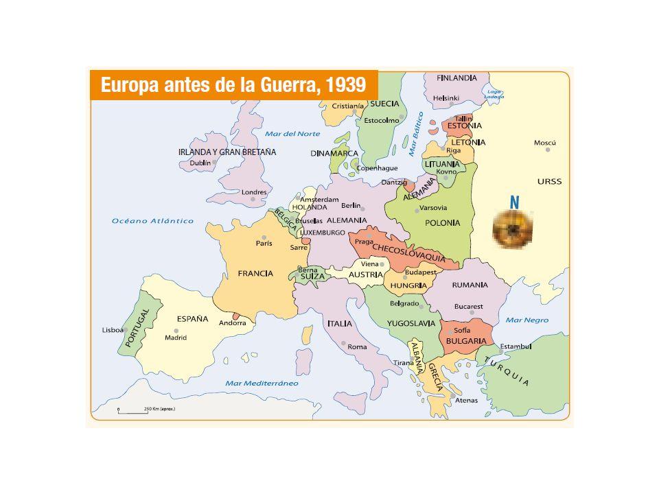1940 Italia se incorpora en el conflicto (ataca fallidamente el sur francés) Septiembre.