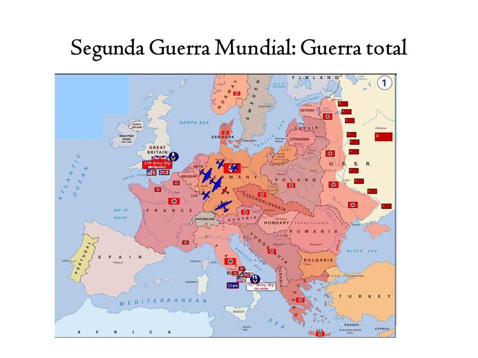 Segunda Guerra Mundial: Guerra total