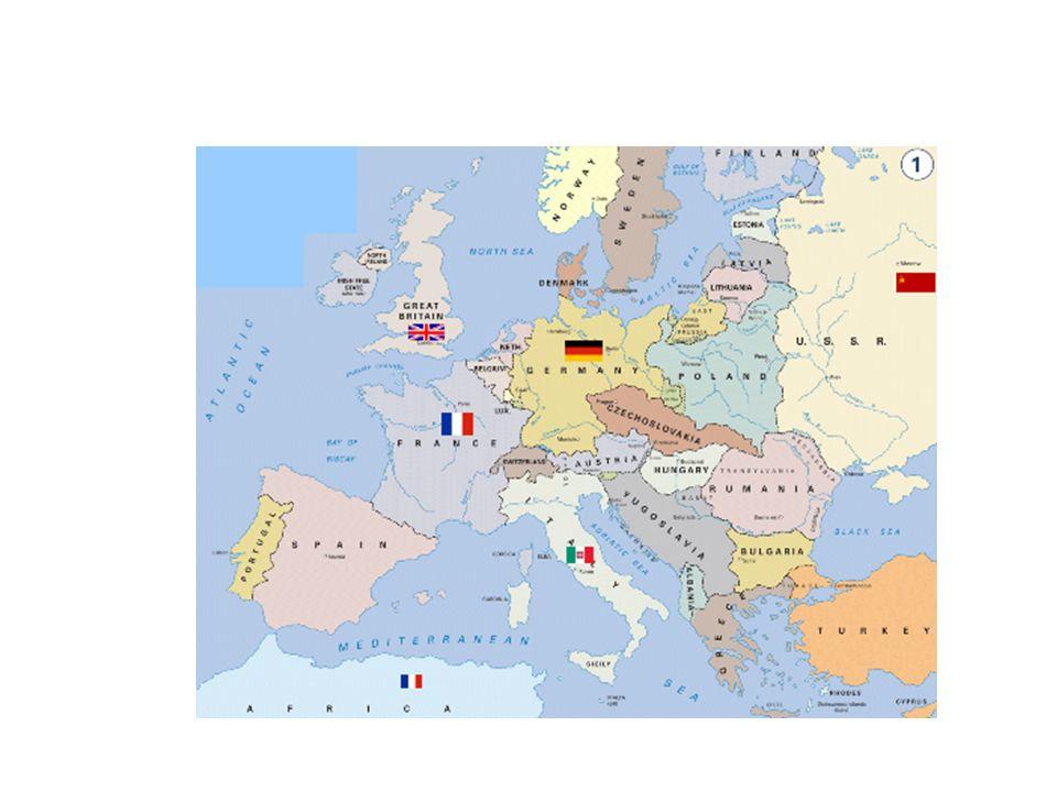 Contraofensiva aliada Se desarrolló desde cuatro frentes Oriental Occidental (Atlántico) Africano Asia Pacífico