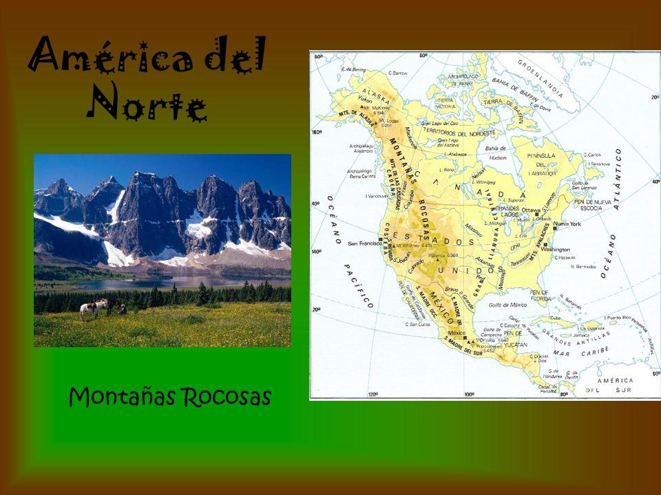 Montañas Rocosas América del Norte