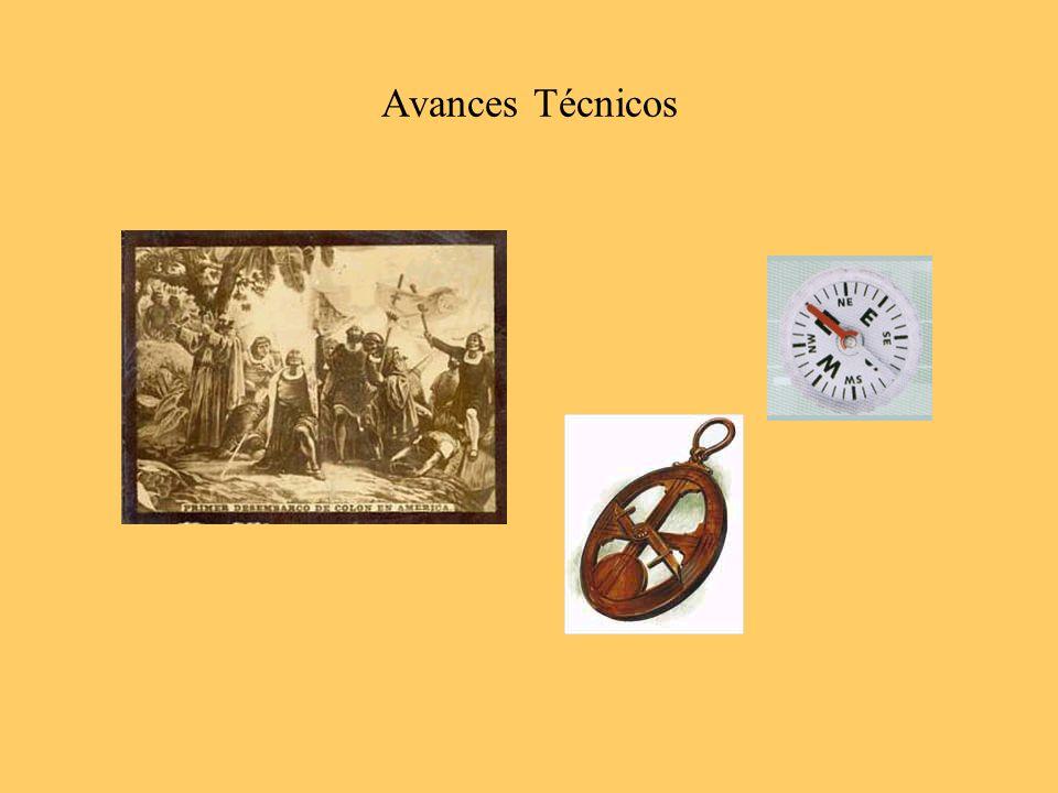 Los Viajes de Descubrimiento fueron posibles gracias al desarrollo tecnológico de la navegación.