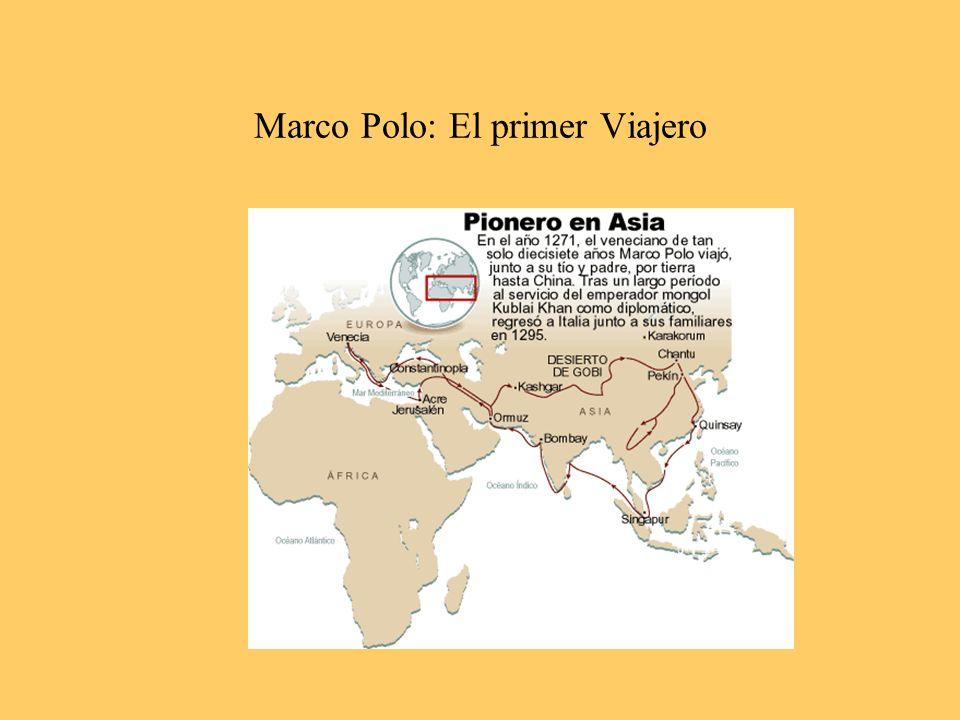 Marco Polo: El primer Viajero