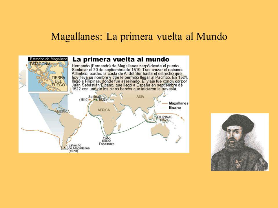 Magallanes: La primera vuelta al Mundo