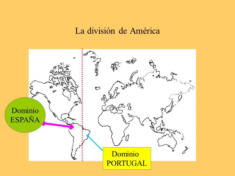 La División de América Bula Intercaetera Tratado de Tordesillas
