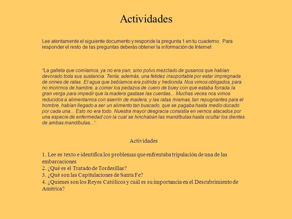 Actividades Lee atentamente el siguiente documento y responde la pregunta 1 en tu cuaderno. Para responder el resto de las preguntas deberás obtener l
