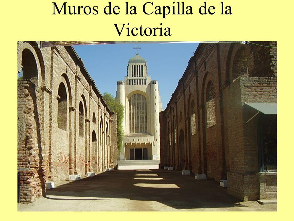 Muros de la Capilla de la Victoria