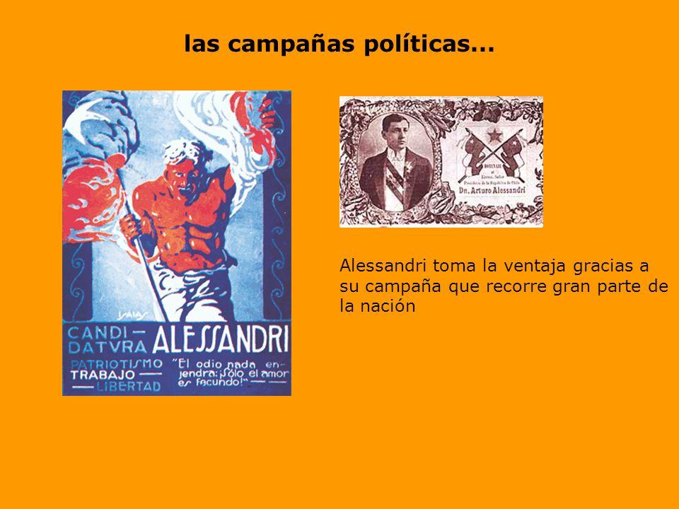 En el mundo Político se aproximan las Elecciones de 1920 choque entre Arturo Alessandri Palma V/S Luis Barros Borgoño