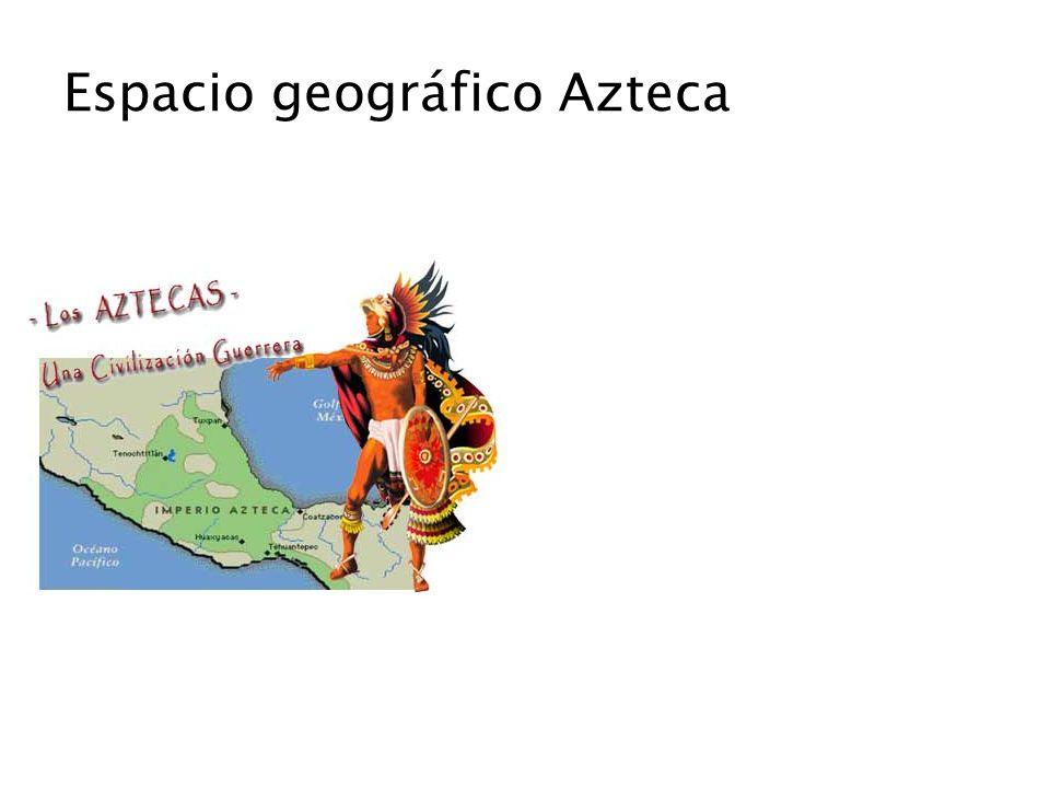 Espacio geográfico Azteca