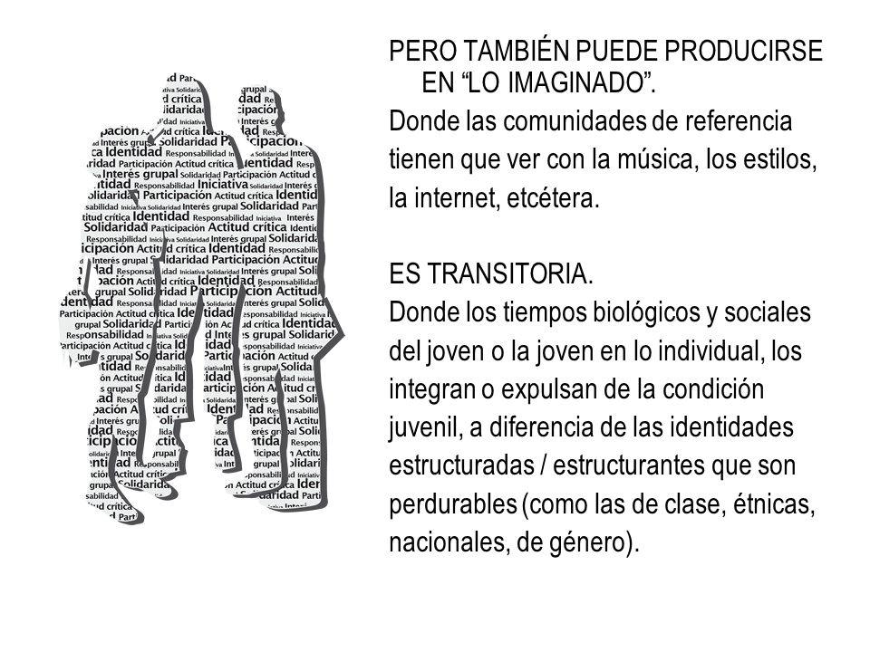 Constitución de la categoría social de los jóvenes 1.