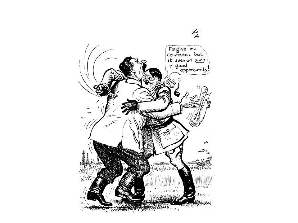 Antecedentes de la Segunda Guerra Mundial Tratado de Versalles: (Alemania establecía la Revisión de los acuerdos) En 1935, Hitler anunció que rechazaba las condiciones establecidas en Versalles, restableció el servicio militar obligatorio y se propuso reconstruir la aviación.