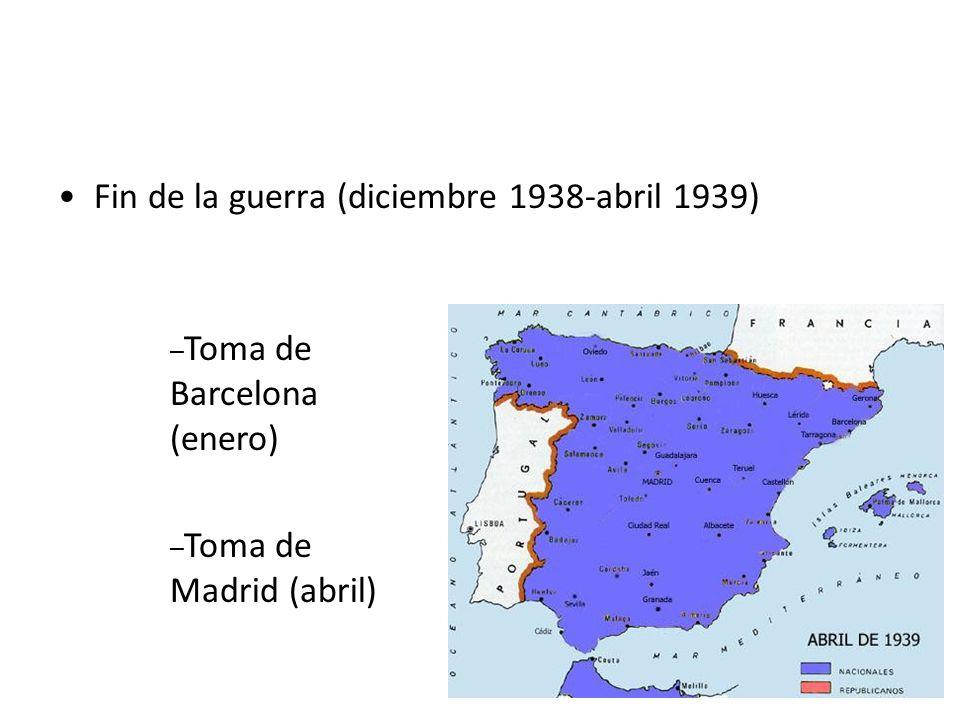 Hacia el mediterráneo (diciembre 1937- noviembre 1938) División del territorio republicano en dos partes: