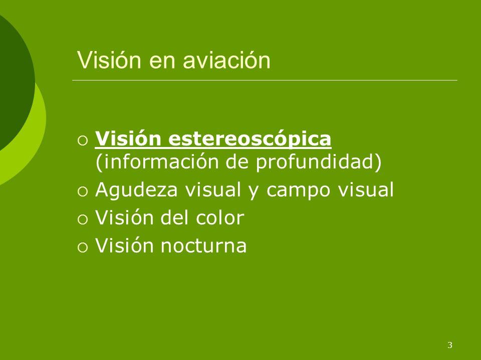 14 La retina Fóvea Zona situada en el centro posterior de la retina caracterizada por su gran concentración de conos.