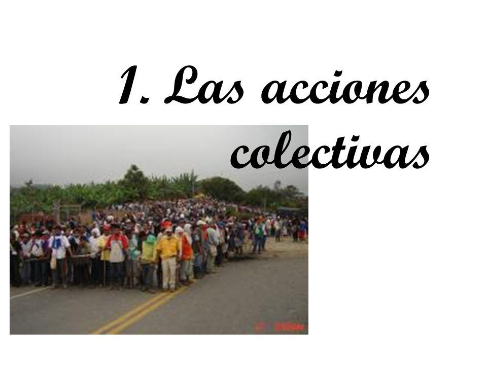 1. Las acciones colectivas