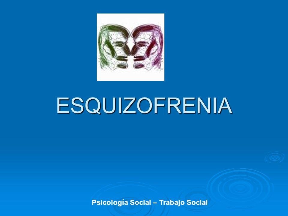 Antecedentes Generales Concepto proveniente del Griego: Concepto proveniente del Griego: Schizein (escindir o dividir) Schizein (escindir o dividir) Phren (mente) Phren (mente) Eugen Bleuler (1908) psiquiatra suizo cambio Dementia Precox por EQZ.