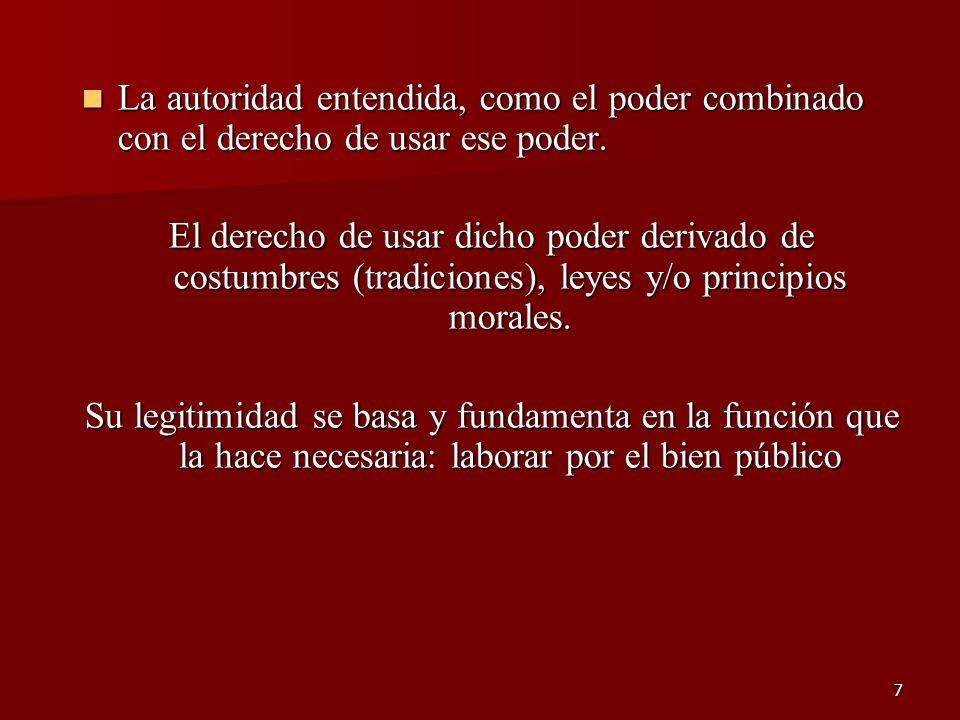 68 POLITICA Y DESEMPEÑO Se consideran las relaciones entre las variables dependientes e independientes, así como también la relación entre las independientes.
