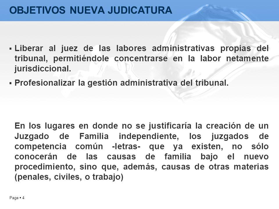 Page 4 Liberar al juez de las labores administrativas propias del tribunal, permitiéndole concentrarse en la labor netamente jurisdiccional. Profesion