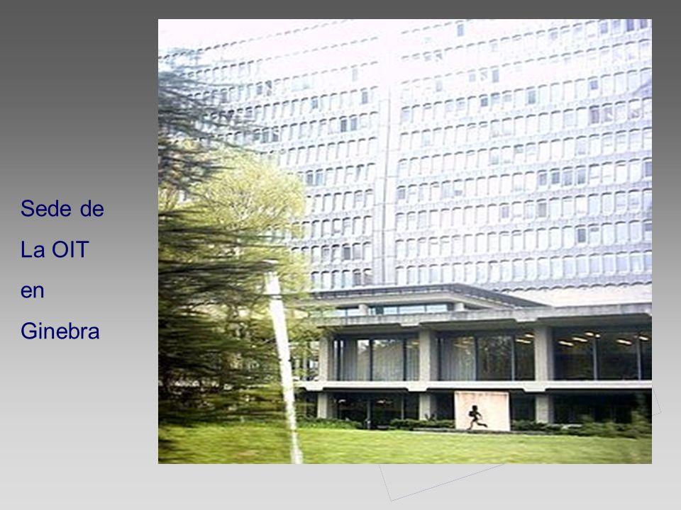 Sede de La OIT en Ginebra
