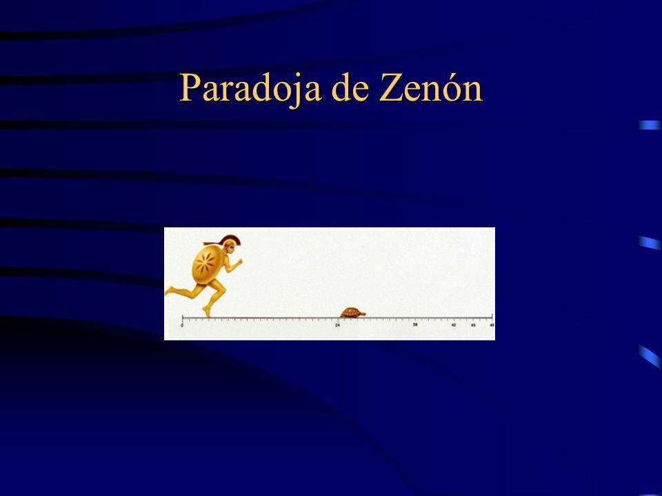 Paradoja de Zenón
