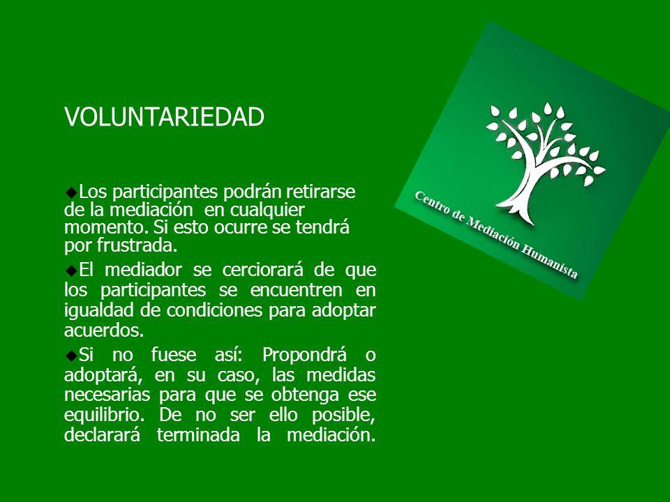 VIF Y MEDIACIÓN Condiciones Mediación Familiar con VIF Igualdad de las partes y Voluntariedad del Proceso Comediación en Proceso de Mediación Sesiones privadas de evaluación violencia, para mantención de principios de la mediación.