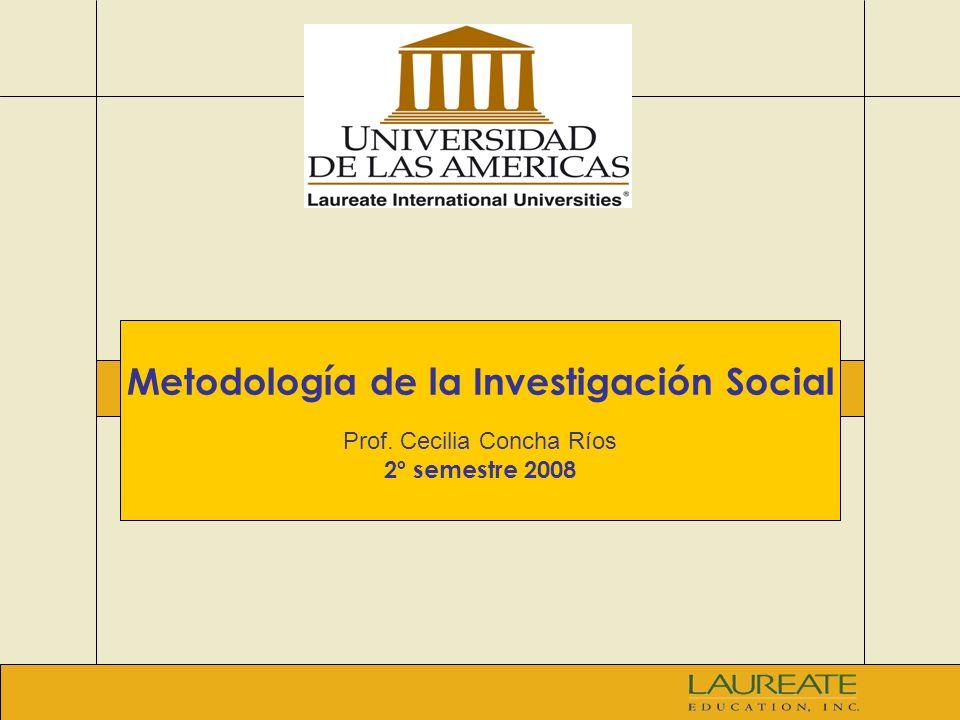 2 Investigación científica y el método científico Investigación en el ámbito social