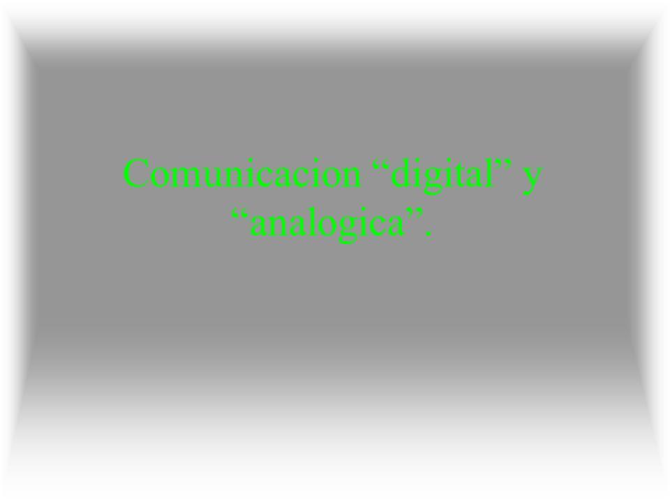 Comunicación digital.