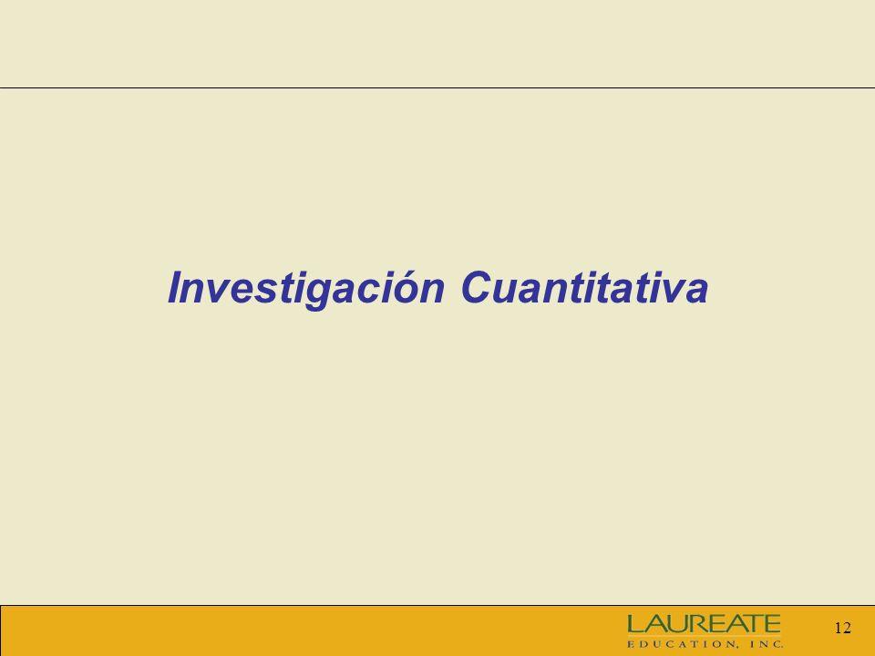 12 Investigación Cuantitativa