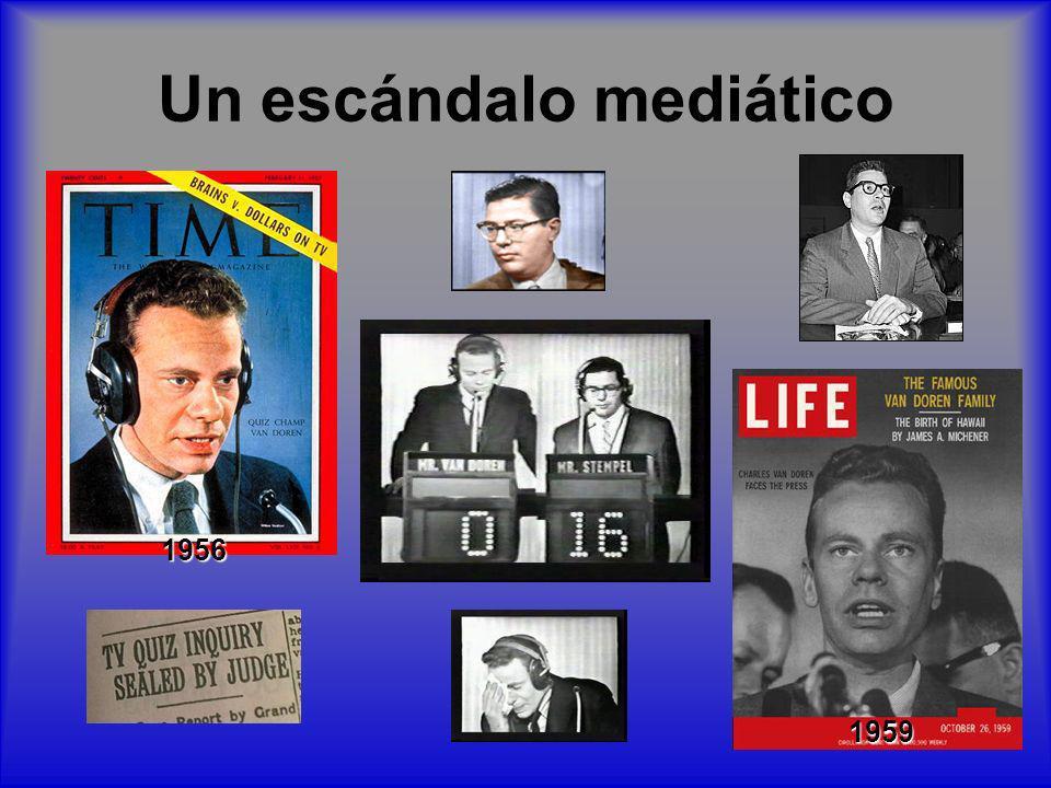 Un escándalo mediático 1956 1959
