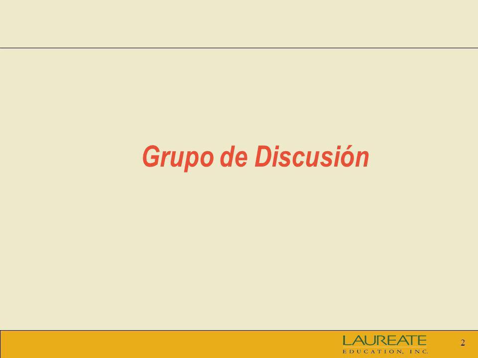 2 Grupo de Discusión