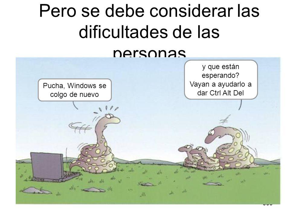 355 Pero se debe considerar las dificultades de las personas Pucha, Windows se colgo de nuevo y que están esperando? Vayan a ayudarlo a dar Ctrl Alt D