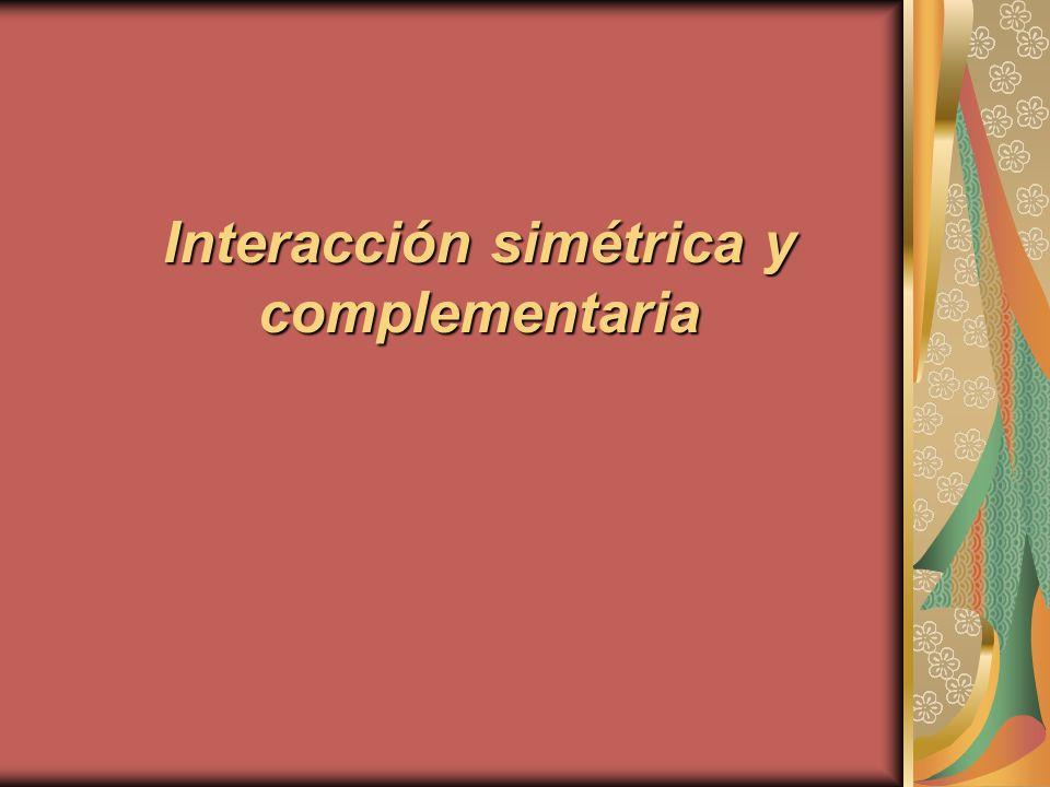 interaccion complementaria: