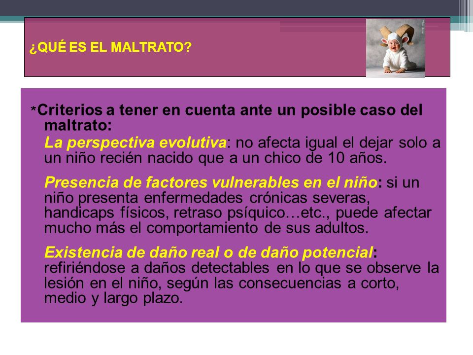DEFINIENDO MALTRATO…..