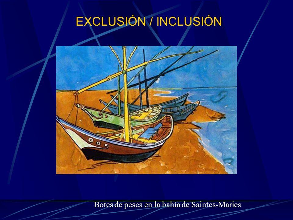 EXCLUSIÓN / INCLUSIÓN Botes de pesca en la bahía de Saintes-Maries