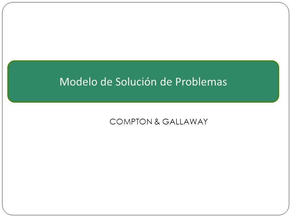 Modelo de Solución de Problemas COMPTON & GALLAWAY