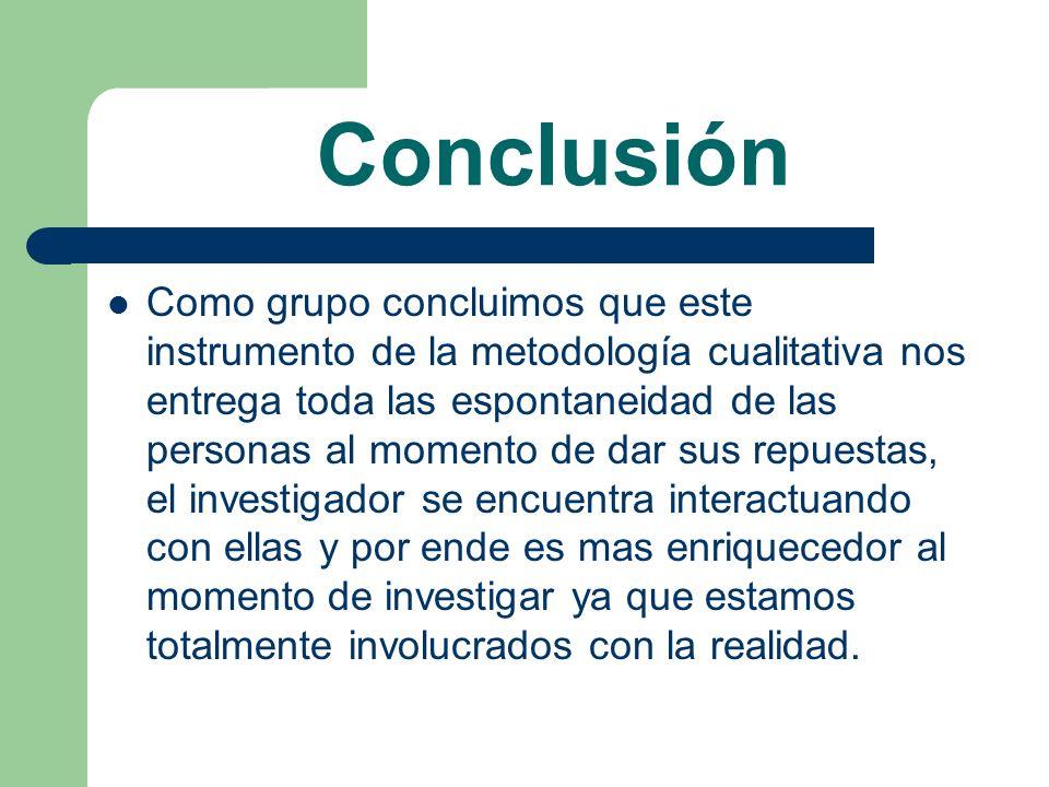 Bibliografia http://www.ayudaproyecto.com http://www.antroposmoderno.com/antro- articulo.php?id_articulo=1124 http://www.rrppnet.com.ar/focusgroups.htm