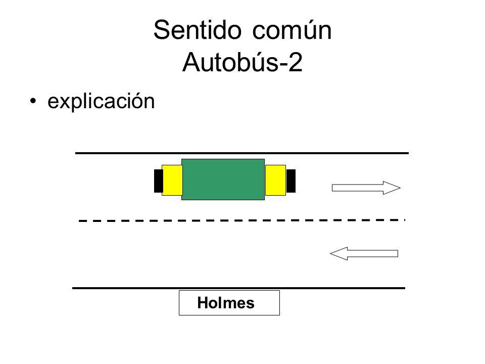 Sentido común Autobús-2 explicación Holmes