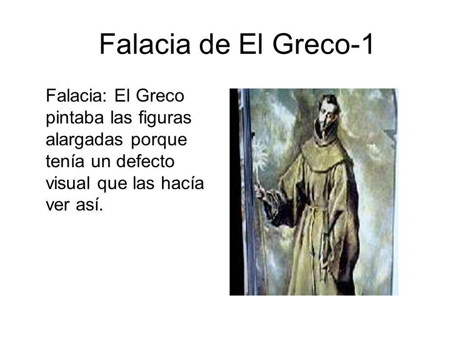 El Greco - 2 El GrecoModelo Copia fiel