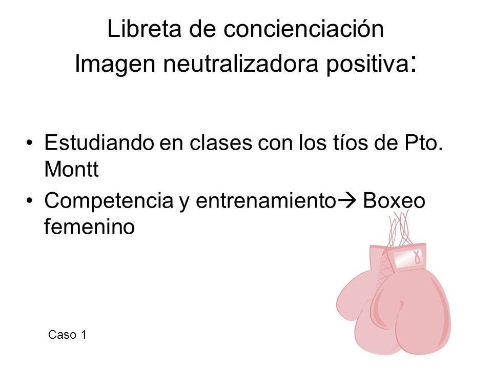 Libreta de concienciación Imagen neutralizadora positiva : Estudiando en clases con los tíos de Pto. Montt Competencia y entrenamiento Boxeo femenino